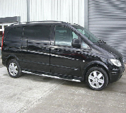 Mercedes Viano Hire in Edinburgh